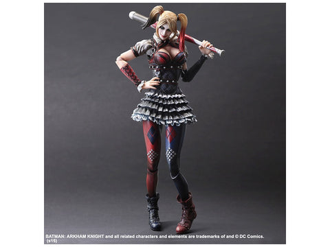 e940cbae5c9d Square Enix DC Comics Batman Arkham Knight Harley Quinn Play Arts Kai  Action Figure