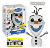 Pop Funko Frozen Olaf the Snowman with Glitter EE Exclusive Figure - Toyz in the Box