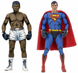 Neca Superman vs Muhammad Ali 2 Pack Action Figure - Toyz In The Box - 1