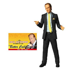 Mezco Breaking Bad Saul Goodman Action Figure - Toyz in the Box