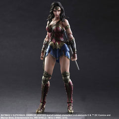 Square Enix DC Comics Batman vs Superman Dawn of Justice Wonder Woman Play Arts Kai Action Figure - Toyz in the Box