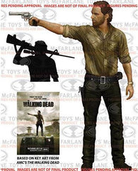 "Mcfarlane Toys Rick Grimes AMC The Walking Dead Deluxe 10"" Action Figure - Toyz in the Box"