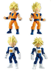 Bandai Shokugan 66 Dragonball Kai set of 4 Goku Gohan Vegeta Trunks - Toyz in the Box