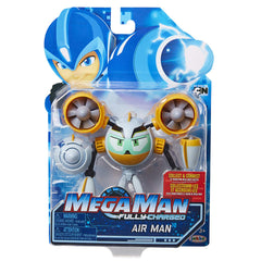 Jakks Pacific Mega Man Fully Charged Air Man Action Figure - Toyz in the Box