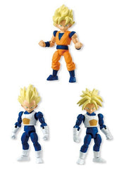 Bandai Shokugan 66 Dragonball Kai set of 3 Goku Vegeta Trunks - Toyz in the Box