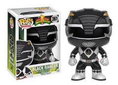 Pop Funko Mighty Morphin Power Rangers Black Ranger 361 Vinyl Figure - Toyz in the Box