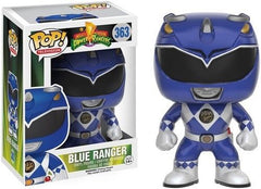 Pop Funko Mighty Morphin Power Rangers Blue Ranger 363 Vinyl Figure - Toyz in the Box