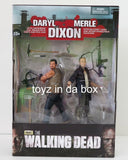 Mcfarlane Toys Daryl + Merle Dixon 2 Pack AMC The Walking Dead Action Figures - Toyz in the Box