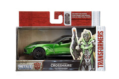 Jada Die Cast Metals Transformers 1:32 Crosshairs Vehicle