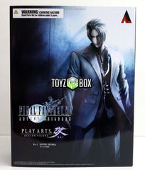 Square Enix Final Fantasy VII Advent Children Rufus Shinra Play Arts Kai Action Figure - Toyz in the Box