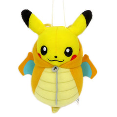 Banpresto Plush Pokemon Pikachu in Dragonite Sleeping Bag Plush - Toyz in the Box