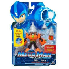 Jakks Pacific Mega Man Fully Charged Drill Man Action Figure