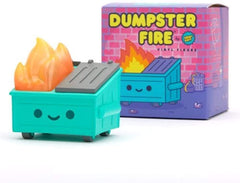 100 Soft US Dumpster Fire Vinyl Figure