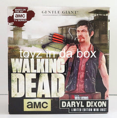 Gentle Giant Daryl Dixon The Walking Dead Bust Statue - Toyz in the Box