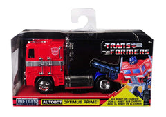 Jada Die Cast Metals Transformers G1 Optimus Prime 1:32 Vehicle - Toyz in the Box