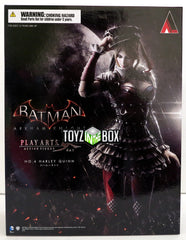 Square Enix DC Comics Batman Arkham Knight Harley Quinn Play Arts Kai Action Figure