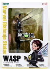 Kotobukiya Marvel Comics Wasp Bishoujo Statue - Toyz in the Box