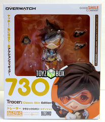 Good Smile Company Overwatch Tracer Classic Skin Nendoroid Action Figure