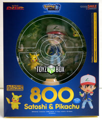 Good Smile Company Pokemon Ash and Pikachu Nendoroid Action Figure - Toyz in the Box