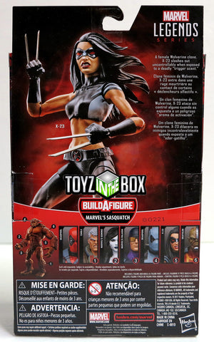 "In STOCK Hasbro Toys Marvel Legends /""X-23/"" with Sasquatch BAF Action Figure"