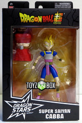 Bandai Dragon Ball Stars Dragonball Super Super Saiyan Cabba Action Figure - Toyz in the Box