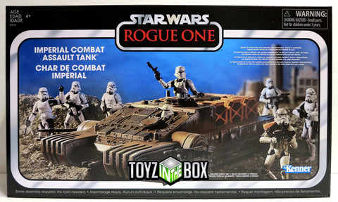 Star Wars Rogue One Imperial Combat Assault Hover Tank Vintage Collection