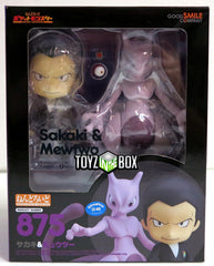 Good Smile Company Pokemon Giovanni and Mewtwo Nendoroid Action Figure
