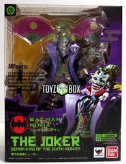 S.H. Figuarts Ninja Batman The Joker Demon King of the Sixth Heaven Action Figure - Toyz in the Box