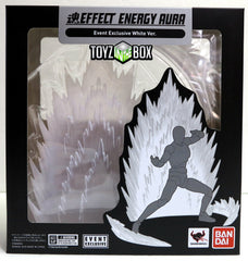 Bandai Tamashii Effect Energy Aura Event Exclusive White Ver Stage for Humanoid Figuarts - Toyz in the Box