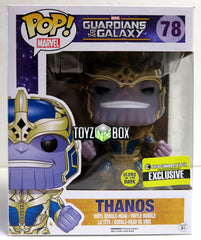 Funko Pop Guardians of the Galaxy Thanos GITD EE Exclusive 78 Vinyl Figure - Toyz in the Box