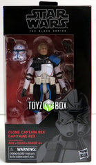 Hasbro Toys Star Wars Black Series Captain Rex Action Figure
