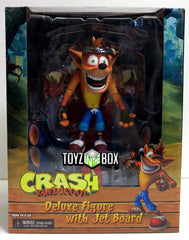 NECA Crash Bandicoot Deluxe with Hoverboard Action Figure - Toyz in the Box