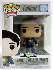 Funko Pop Fallout Vault Dweller (Male) 371 VInyl Figure - Toyz in the Box