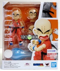 S.H. Figuarts Dragonball Kid Krillin Action Figure - Toyz in the Box