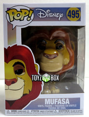 Funko Pop Disney Lion King Mufasa 495 Vinyl Figure - Toyz in the Box