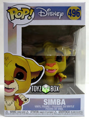 Funko Pop Disney Lion King Simba 496 Vinyl Figure - Toyz in the Box