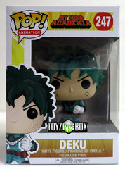 Funko Pop My Hero Academia Deku 247 Vinyl Figure - Toyz in the Box