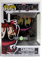 Funko Pop Marvel Venom Carnage (Cletus Kasady) 367 Vinyl Figure - Toyz in the Box
