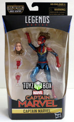Marvel Legends Captain Marvel Wave 1 Kree Sentry BAF Captain Marvel Action Figure - Toyz in the Box