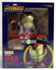 Good Smile Company Avengers Infinity Iron Man Mark 50 Nendoroid Action Figure - Toyz in the Box