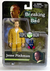Mezco Jesse Pinkman with Yellow Hazmat Suit Breaking Bad Action Figure - Toyz in the Box