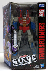 Transformers Siege War For Cybertron Trilogy Voyager Starscream Action Figure - Toyz in the Box