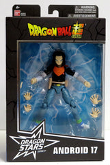 Bandai Dragon Ball Stars Super Android 17 Action Figure - Toyz in the Box