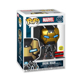 **Pre Order**Funko Pop Marvel Iron Man Model 39 (GITD) AAA Exlcusive 555 VInyl Figure