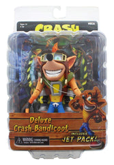 NECA Crash Bandicoot Deluxe with Jet Pack Action Figure - Toyz in the Box