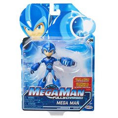 Jakks Pacific Mega Man Fully Charged Mega Man Action Figure - Toyz in the Box