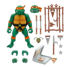 **Pre Order**Super 7 Teenage Mutant Ninja Turtles Ultimates Michelangelo Action Figure