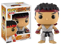 Pop Funko Street Fighter Ryu 137 Vinyl Figure - Toyz in the Box