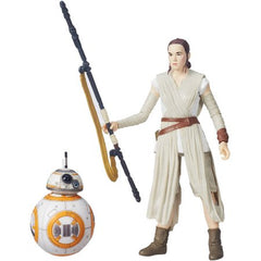 Hasbro Toys Star Wars Black Series The Force Awakens Episode 7 Rey (Jakku) + BB-8 Action Figure - Toyz in the Box