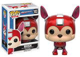"Pop Funko Mega Man ""Rush"" Vinyl Figure"